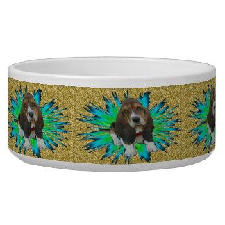 Pet Bowl Basset Hound Sheldon