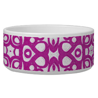 Pet Bowl Floral abstract background