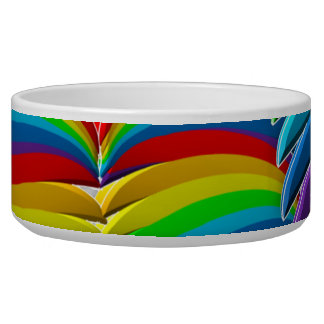 pet bowl gay pride rainbow love luv