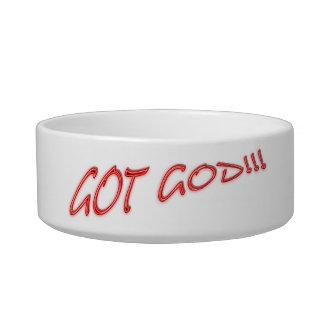 Pet bowl, Got God Bowl