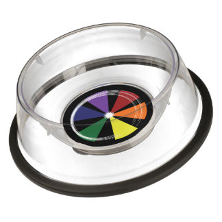 Pet Bowl - Large PRIDE COLOR WHEEL