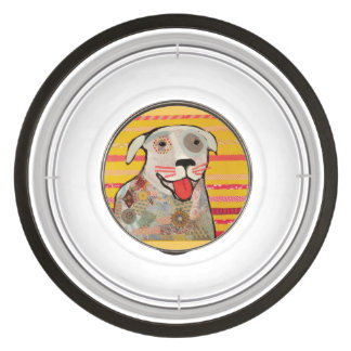 Pet Bowl Large with Nice Puppy Dog