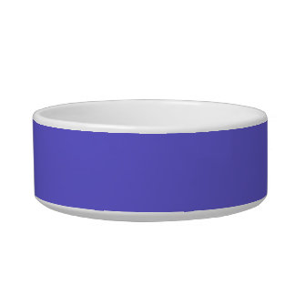 Pet Bowl with Cornflower Blue Background