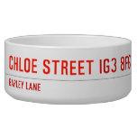 chloe Street  Pet Bowls