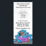 """Pet Brindle Boxer Grooming Business Door Hangers Rack Card<br><div class=""""desc"""">This whimsical design features a Brindle Boxer in a bathtub and he is covered in frothy bubbles. A brush and 2 bottles are on the floor near the tub. There is plenty of customizable text for you to add your business name and information, plus additional lines for special services. You...</div>"""