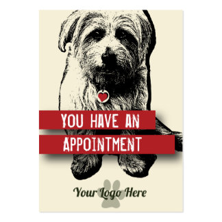 Pet Business Appointment Card - Personalizable Business Card