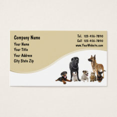 Pet Business Cards at Zazzle