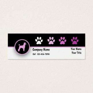 Pet Business Mini Business Cards