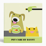 Pet Care Business Binder