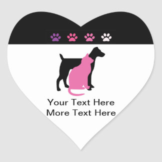 Pet Care Business Stickers