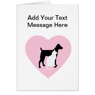 Pet Care Custom Cards