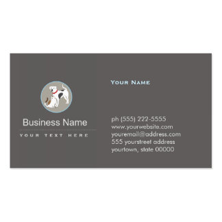 Pet Care Dog and Cat Logo Double-Sided Standard Business Cards (Pack Of 100)
