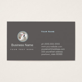 Pet Care Dog and Cat Logo Business Card