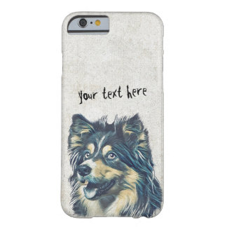 Pet Care Grooming Sitting Adorable Cartoon Dog Barely There iPhone 6 Case
