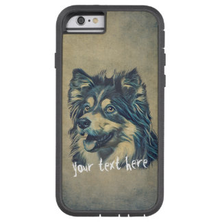 Pet Care Grooming Sitting Adorable Cartoon Dog Tough Xtreme iPhone 6 Case