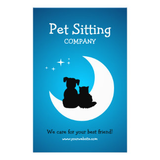 Pet Care / Pet Sitting Business Flyer  Pet Poster
