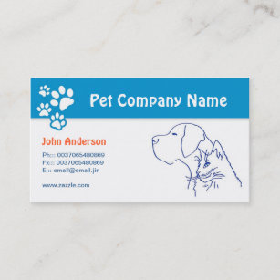 Veterinary business cards templates zazzle pet care pet veterinary or grooming business card colourmoves