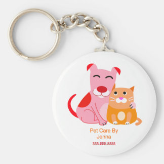 Pet Care Promotional Keychain