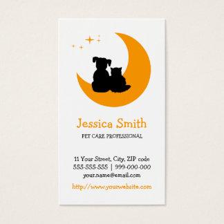 Pet Care / Sitter business card