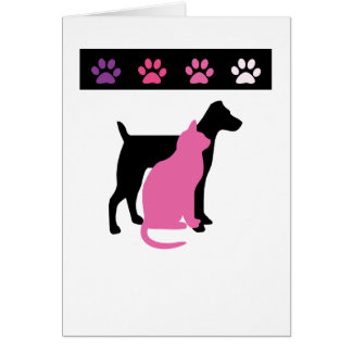 Pet Care Thank You Cards