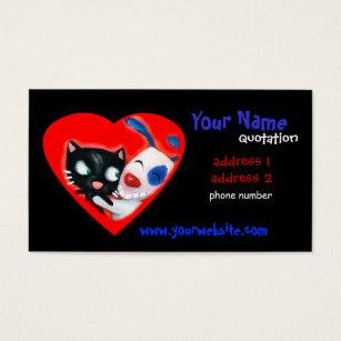 Comic business cards templates zazzle pet care veterinarians animal lovers business card colourmoves