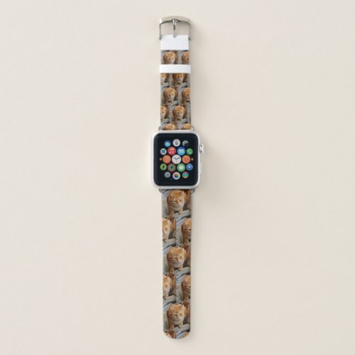 Pet Cat Dog Photo Custom Personalized Apple Watch Band