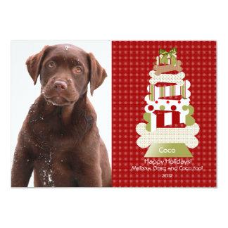 "Pet Christmas Cards | Flat Card Invitation Stock 5"" X 7"" Invitation Card"