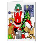 Pet Christmas Greeting Cards