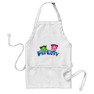Pet City apron with logo