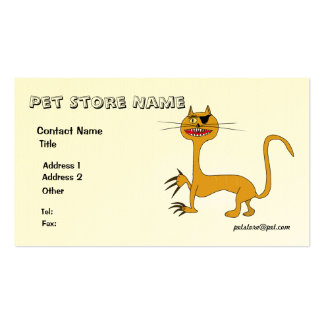 Pet Clinic or Care Business card