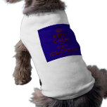 [Crown] keep calm and eat ice-cream  Pet Clothing