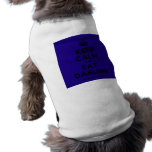 [Crown] keep calm and eat darling  Pet Clothing
