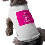 [Cupcake] keep calm and eat cake  Pet Clothing