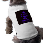 [Crown] keep calm and rep msfts  Pet Clothing