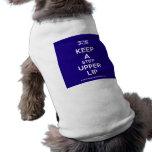 [UK Flag] keep a stiff upper lip  Pet Clothing