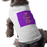[Crown] keep calm and pun pun  Pet Clothing