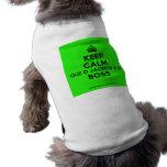 [Crown] keep calm que o jacinto é o boss  Pet Clothing