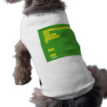 AEILNORSTU DG BCMP FHVWY K   JX  QZ  Pet Clothing
