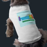 """Pet Clothing<br><div class=""""desc"""">Pet Clothing featuring periodic table of the elements,  with each element group marked in rainbow colours.</div>"""