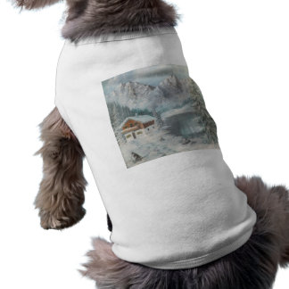 Pet Clothing Ann Hayes Painting Bavarian SnowDream