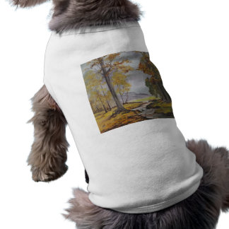 Pet Clothing Ann Hayes Painting Forest Stream