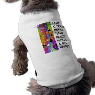 Pet Clothing - BIG BANG BLACK HOLES POP ART
