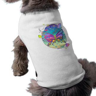 Pet Clothing - BUTTERFLY POP ART