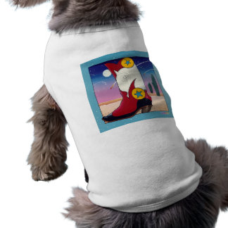 Pet Clothing - Cowboy Boot, All Dressed Up