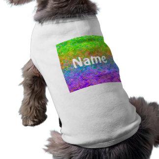Pet Clothing Fluid Colors
