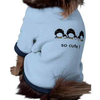 Pet clothing pinguin