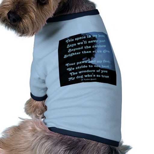 Pet Clothing Poem Ode To Dogs By Ladee Basset