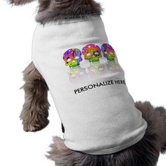 Pet Clothing - POP ART SKULLS