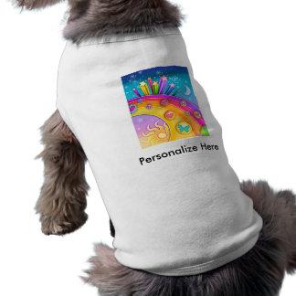 Pet Clothing - Retro Pop Art Sixties Sky