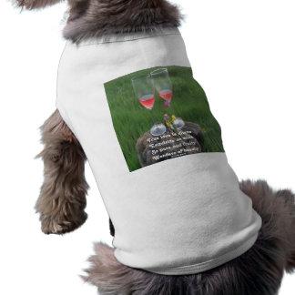 Pet Clothing Wine Poem By Ladee Basset